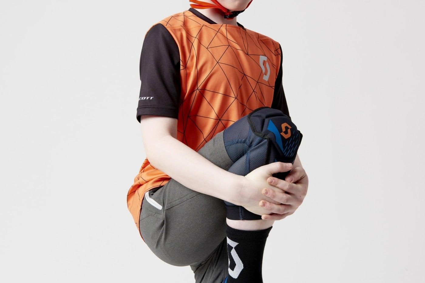 Scott Jacket Jacket Protector Vanguard Black-Midnight Blue-Orange
